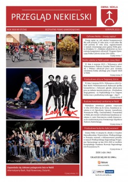 Przegląd Nekielski 08 / 2019 strona 1