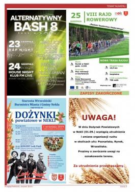 Przegląd Nekielski 08 / 2019 strona 3