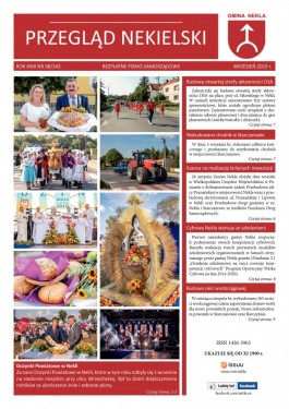 Przegląd Nekielski 09 / 2019 strona 1