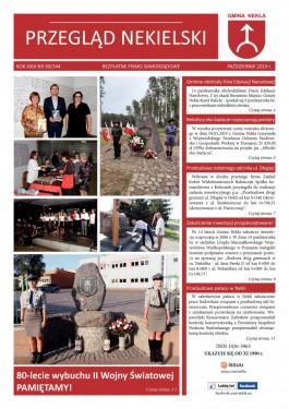 Przegląd Nekielski 10 / 2019 strona 1