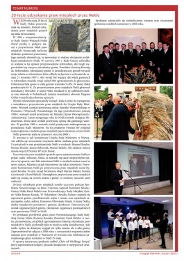 Przegląd Nekielski 01 / 2020 strona 4