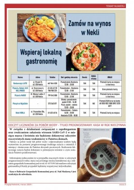 Przegląd Nekielski 03 / 2020 strona 3