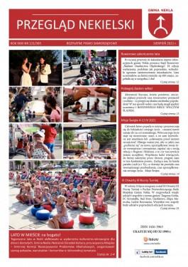 Przegląd Nekielski 08 / 2021 strona 1