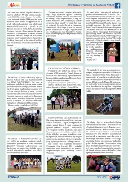 Przegląd Nekielski 07 / 2017 strona 2