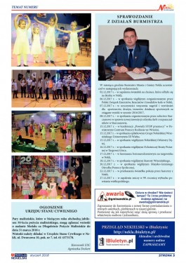 Przegląd Nekielski 01 / 2018 strona 5