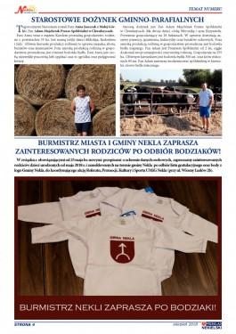 Przegląd Nekielski 08 / 2018 strona 4