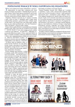 Przegląd Nekielski 08 / 2018 strona 5